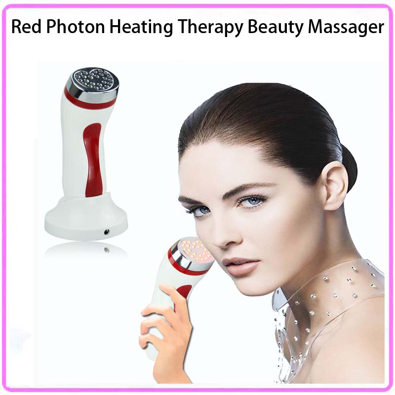Home Use Heating Infrared Red LED Light Photon Therapy System Machine For Blemishes, Dark Spots, Fine Lines & Wrinkles Remover therapy infrared light machine medical device for hospital use