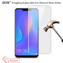2Pcs/lot Tempered Glass For Huawei Mate 20 lite Smartphone High definition Screen Protector on Mate20lite Toughened glass film цена