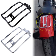 Motorcycle Parts Luggage Rack Carrier Bike For Harley Sportster XL883 1200 Luggage Rear Fender Rack Support Shelf Black/Chrome motorcycle accessories rear fender rack support shelf luggage carrier rack fit for yamaha xt250 serow 1985 2005