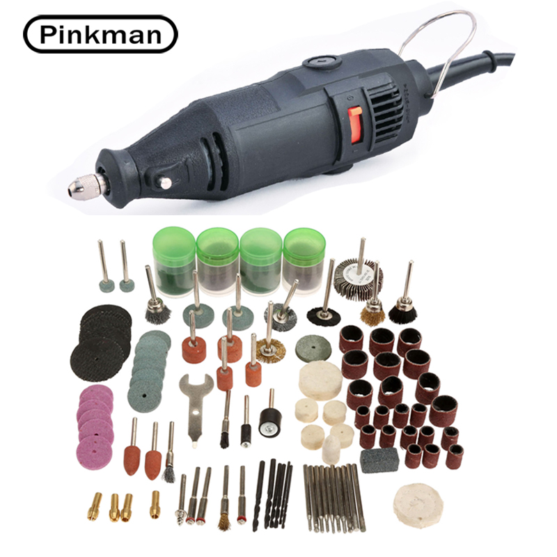 130W Electric Drill Dremel Grinder Engraving Pen Grinder Mini Drill Electric Rotary Tool Grinding Machine Dremel Accessories free shipping 10pcs lot dremel electric grinder copper chuck reed 0 5 mm 3 2 mm rotary drill lock nut