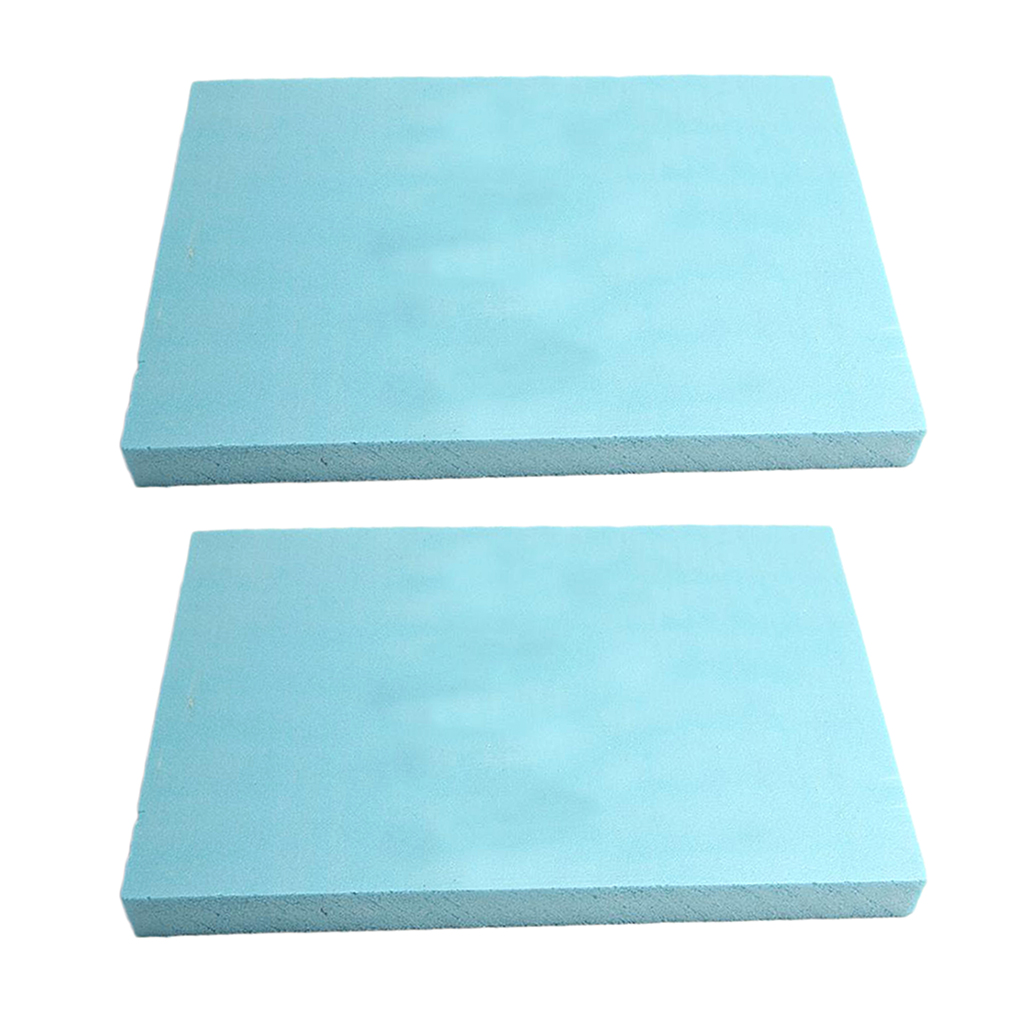 Set Of 5 Density Foam Slab DIY Building Model Landscape Diorama Base Material