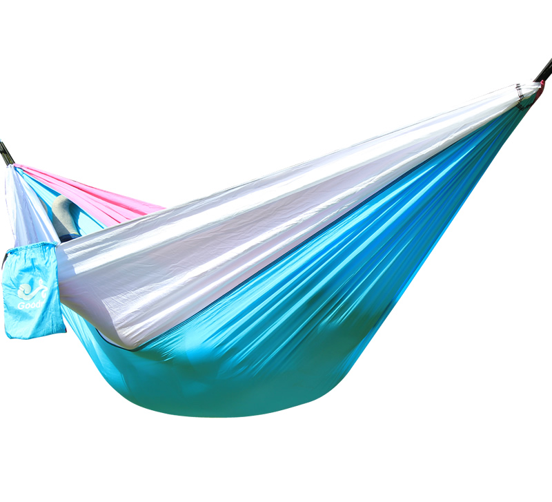 Ultralight Outdoor Camping Hunting Parachute Hammock 2 Person Flyknit Hamaca Garden Hamak Hanging Bed Leisure Hamac
