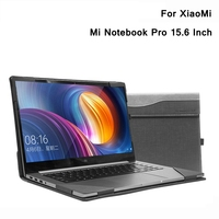 New Creative Design Case For XiaoMi Mi Notebook Pro 15.6 Inch PU Leather Folio Stand Protective Laptop Cover For XiaoMi Pro 15