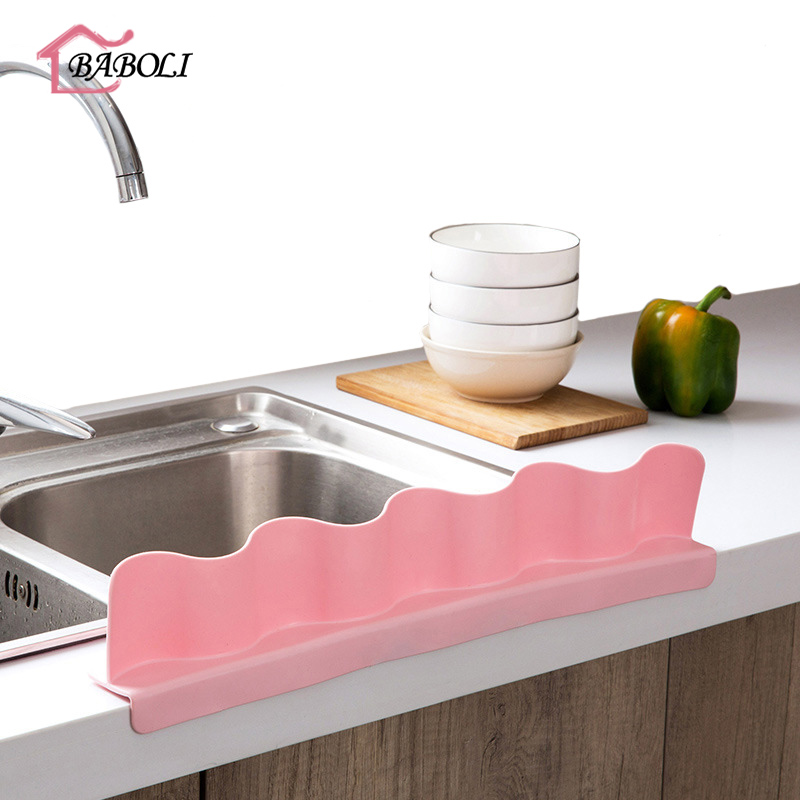 Sink Water Splash Guard Suction Cups Board Protect From Splatter Bathroom Accessories Home Organizer New Kitchen ToolsSink Water Splash Guard Suction Cups Board Protect From Splatter Bathroom Accessories Home Organizer New Kitchen Tools