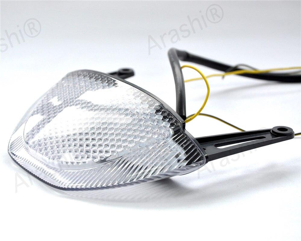 Мотоцикл задние света для Honda <font><b>CBR600RR</b></font> CBR 600RR CBR 600 RR 2009 2010 2011 2012 поворотники стоп светодиодные лампы