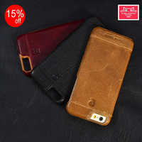 Genuine Leather Hard Back Cover For New IPhone 6 6S 4 7 Fashion Ultra Thin Slim
