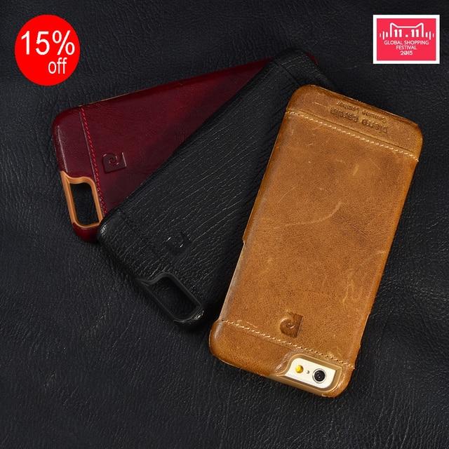 Pierre Cardin пояса из натуральной кожи жесткий чехол для iPhone X 8/8 плюс 7/7 5 5S/SE 6/6s 4,7