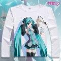 Vocaloid Hatsune Miku Rin Len T Shirt Anime Japanese Famous Animation Novelty Summer Men's T-shirt Cosplay Costume Clothing