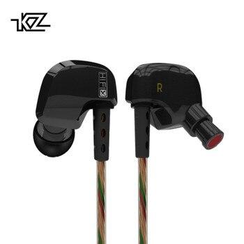 KZ ED9x Super Bol Tuning Buses Écouteur Dans L'oreille Moniteurs HiFi Écouteurs Avec Microphone Son Transparent