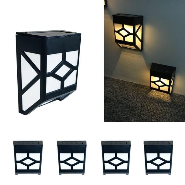 aliexpress com buy solar led lamp waterproof outdoor lighting wall