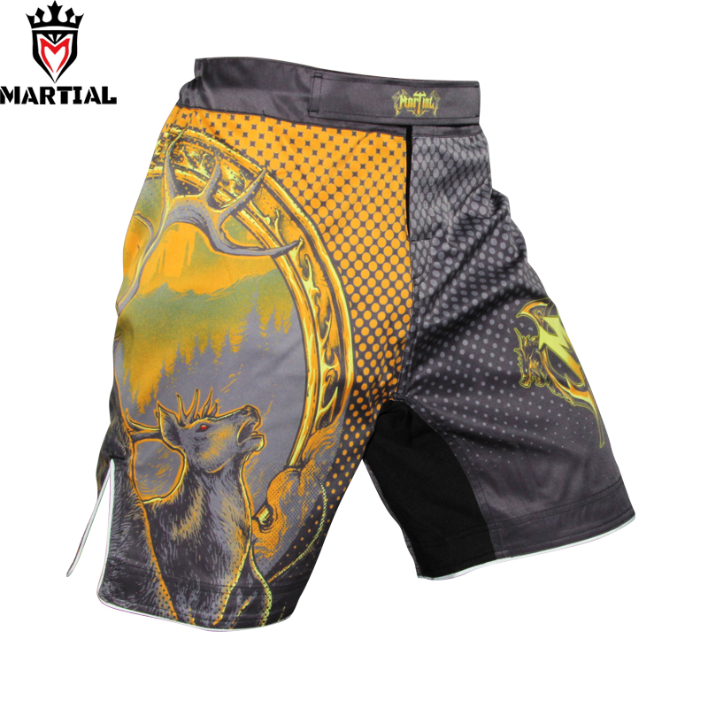 Martial:New arrival Ours is the fury Original design MMA fight shorts bjj combat shorts four way stretch MMA shorts цена