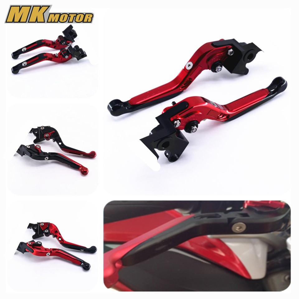 For MV AGUSTA Brutale 750 910 989R 1078 RR 800 Motorcycle Accessories Adjustable Folding Brake Clutch Levers motorcycle accessories adjustable folding extendable brake clutch levers for mv agusta brutale 675 800