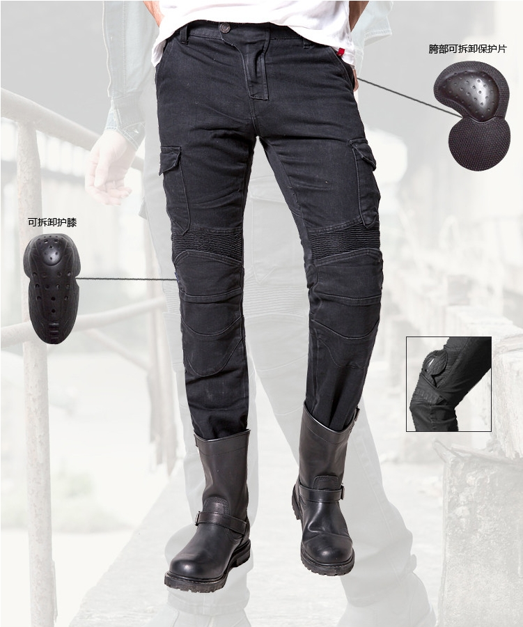 2016 Time-limited New Men Duhan Pants Motocross Motorcycle Riding Pants Uglybros Motorpool Ubs06 Jeans Motorcycle Ride Leisure duhan men s motorcycle jeans motorbike riding biker trousers denim motorcycle pants men moto pants knee guards protective gear