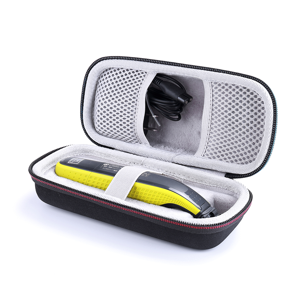 Carrying Bag Protective Box Case for Philips Norelco OneBlade QP2520/90 / QP2520/70 / QP2630/70 Hybrid Electric Trimmer Shaver image