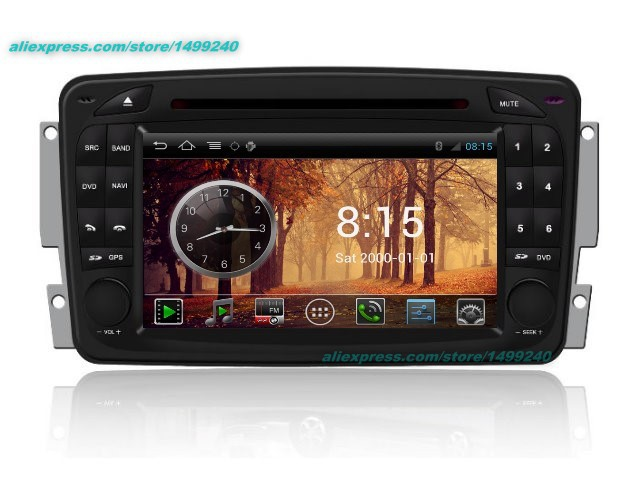 Для Mercedes-Benz CLK W208 A208 1996 ~ 2003-Автомобильный Android GPS навигации Радио стерео ТВ dvd-плеер аудио видео Мультимедиа Системы