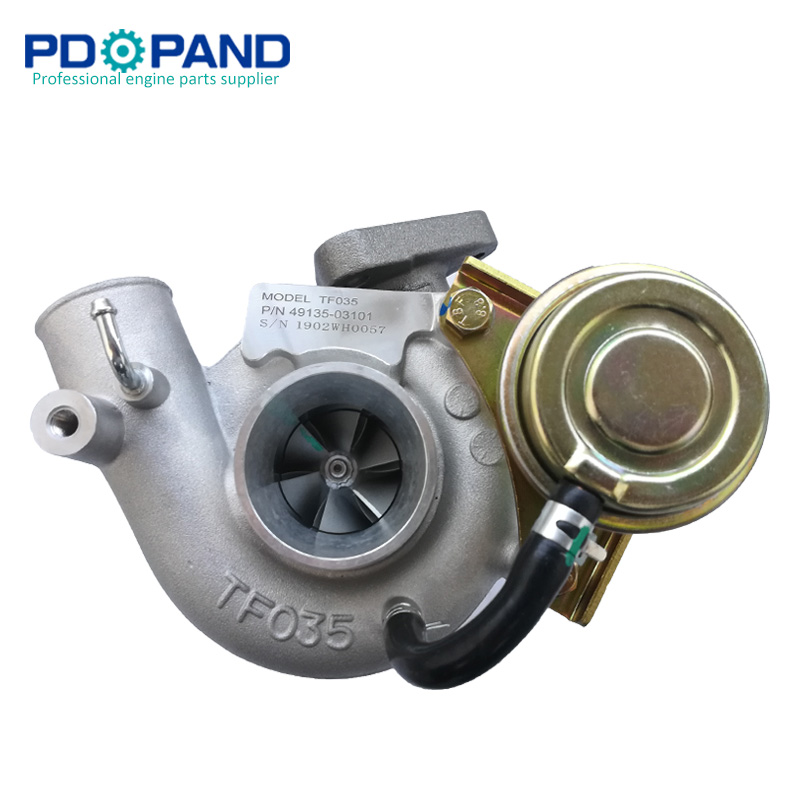 Supercharger turbo kit TF035 для MITSUBISHI Montero Pajero L200 Galant Shogun 2.8L 4M40-T дизельный двигатель 2835cc 49135-03101