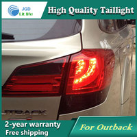 Car Styling Tail Lamp For Outback 2010 2014 Tail Lights LED Tail Light Rear Lamp LED