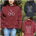 Harry Hoodies Glasses Lightning Printed sweatshirts hoodies Costumes