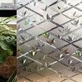 CottonColors Tampa Da Janela de Filmes, No-Cola 3D Estática Privacidade Decorativo Janela de Vidro Etiqueta Home Decor, Tamanho 60x200 cm