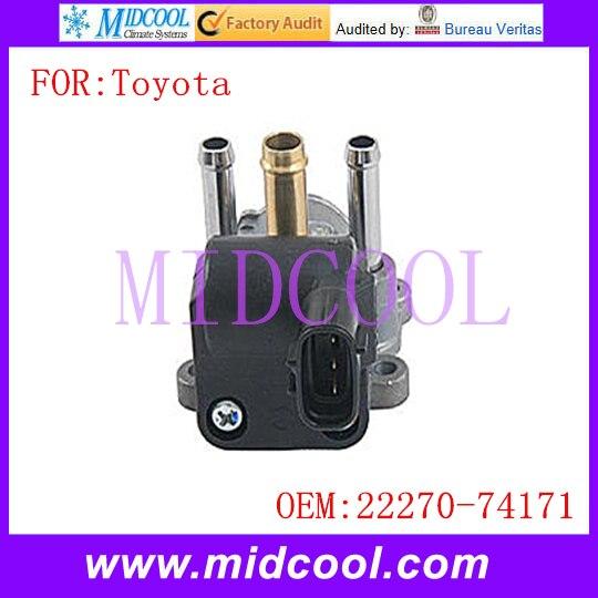 New Auto IAC Idle Air Control Valve use OE NO. 22270 74171 for Toyota RAV4 Camry Celica