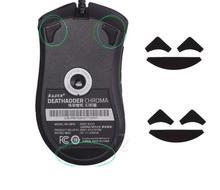 mksup Mouse feet skates mouse pads for Razer DeathAdder Chroma 2 SETS 0.6MM Thickness