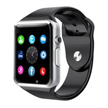 A1 Smart Wrist Watch Bluetooth GSM Phone Watch For Android Samsung iPhone Smartwatch Anti-Lost Pedometer Watch Smart Devices