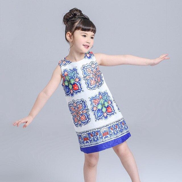 15cd4ca01a887 US $14.88 |New Girl Dresses Summer 2018 Princess Dress Baby Girls Dress  Kimocat Kids Chinese Wind Girl Enfant Kid Dresses For Girl Costumes-in  Dresses ...