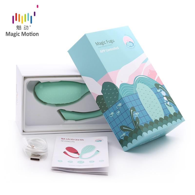 Magic Motion smart Sex toy Bluetooth Vibrator G-spot clitoris stimulator Fugu APP Control Vibrating egg Flamingo Vagina Massager