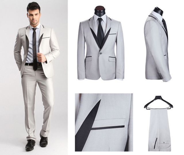 Aliexpress.com : Buy New 2014 100% Men's Wool Suit Pant , Men 2