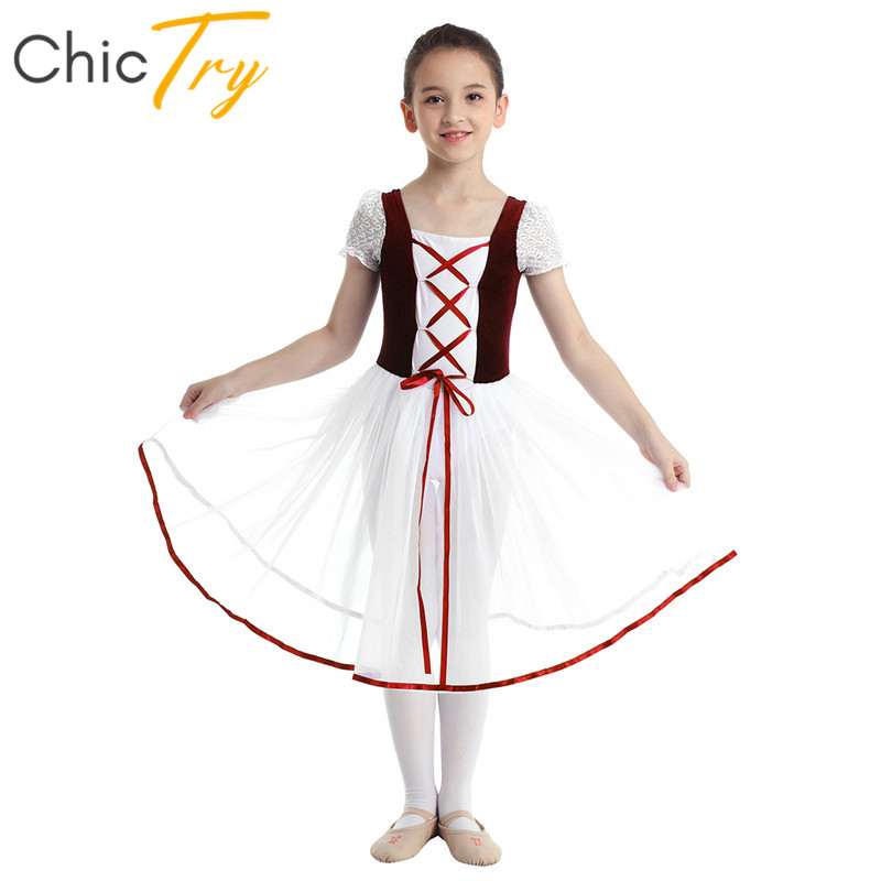 chictry-kids-lace-bubble-sleeves-stage-lyrical-dance-costumes-girls-font-b-ballet-b-font-tutu-dance-dress-children-gymnastics-font-b-ballet-b-font-leotard
