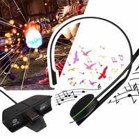 120 cm Kablolu Sohbet Sohbet Gamer Için Mic Ile Kulaklık Kulaklık Kulaklık Xbox One Video Oyun Konsolu Siyah Kulaklık Hediye