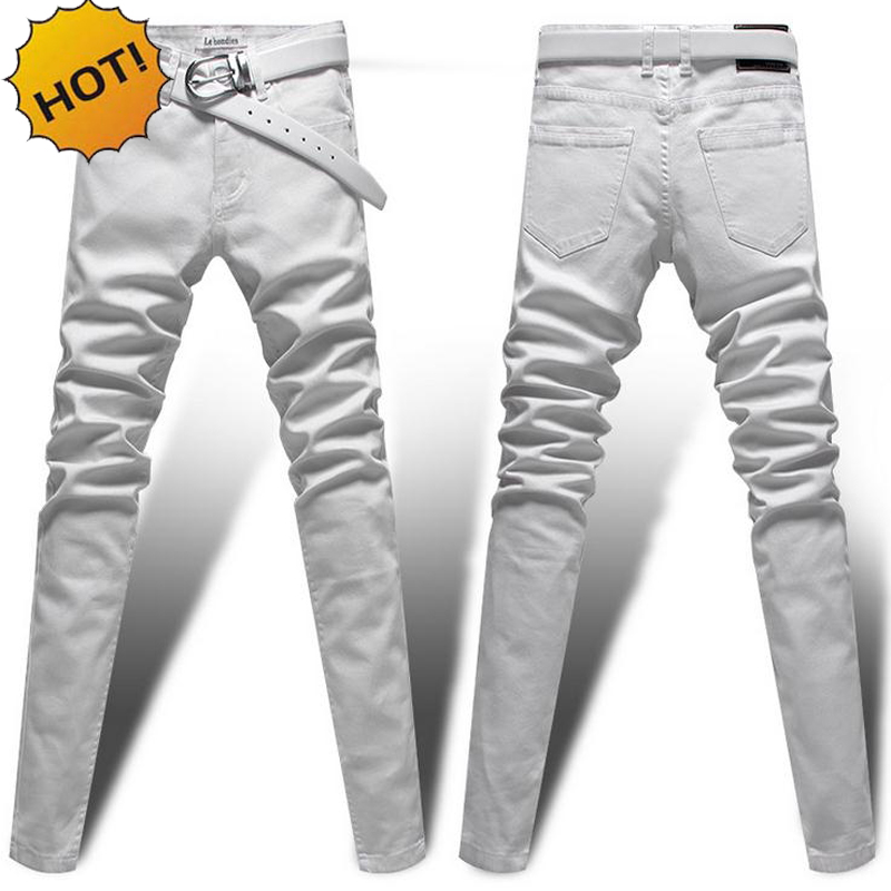 Compare Prices on Slim White Jeans- Online Shopping/Buy Low Price
