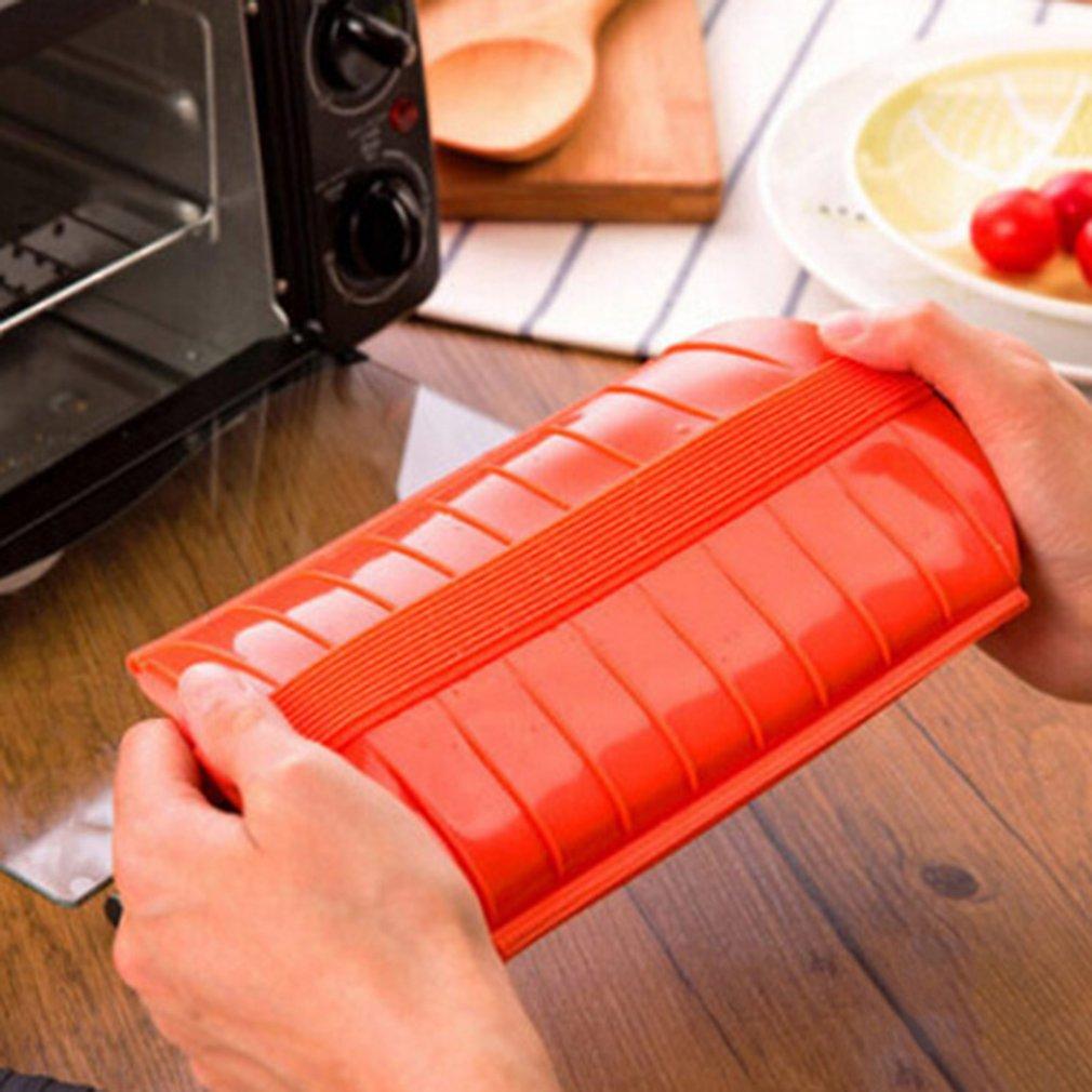 Tragbare Einfach Zu Installieren Home Küche Silikon Dampf Fall Dampfer Küche Gadget Werkzeug Mittagessen Box für Ofen Mikrowelle