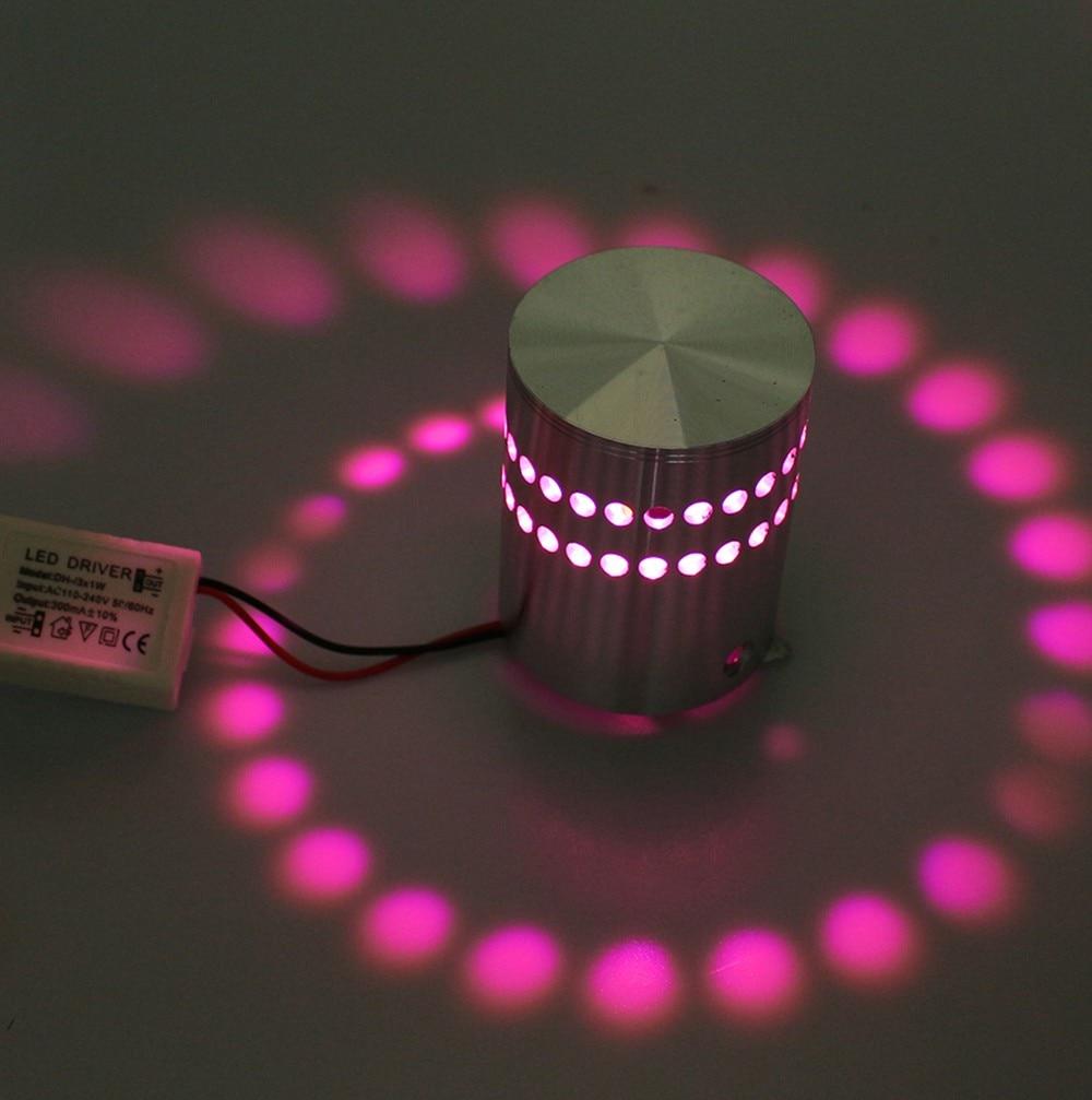 HTB1XtIsXG1s3KVjSZFtq6yLOpXar - Modern style 3W LED Wall Lamp AC85-265V Aluminum Indoor Lighting For KTV Bar Decorate Lights Luminaire Sconce Background Lamps
