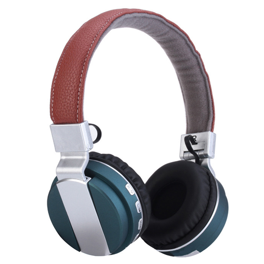 bilder für Neue Faltbare Hifi Bluetooth Headset Drahtlose Kopfhörer In-Ear Kopfhörer mit TF Slot FM für Musik PSP Computer Handys tragbare
