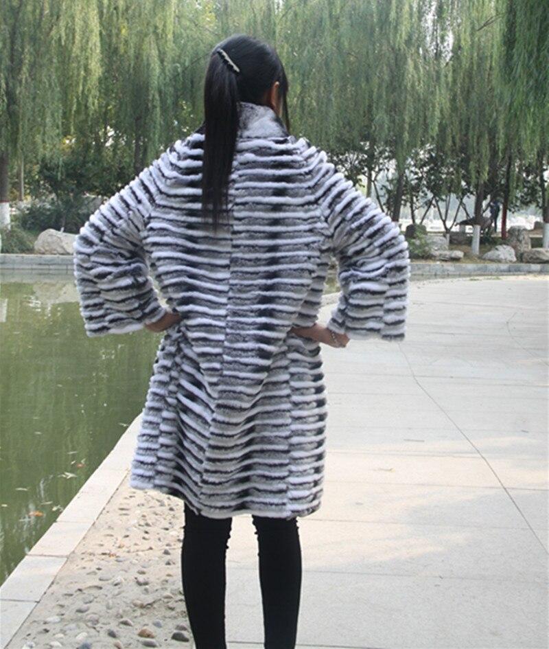 Printemps Véritable Chaude Rayé Vente C1 De Femmes Vestes Naturel Silver Nouveau Gilets Fox Style c2 Mode Fourrure Manteaux EdIBwqBnr