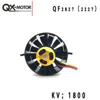 QX Motor RC Plane Parts 70# EDF motor 2827 1800kv Lipo 6s power saving version of the aircraft model fixed wing 70mm ducted fan