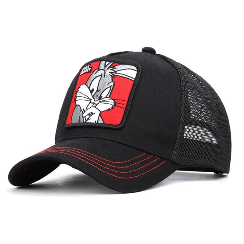 Duck Cute Rabbit Mesh   Baseball     Caps   Snapback Animal Sports Leisure Hats for Women Men Hip Hop Truckr Dad Hat   Cap