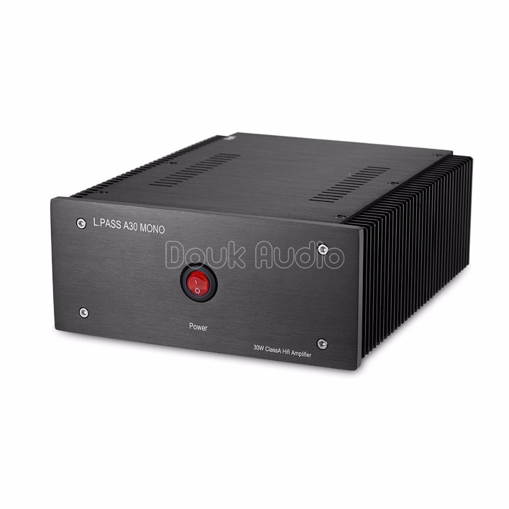 2018 New Nobsound Mono Channel Power Amplifier MOSFET Single-Ended Class A 30W Amp Pass A30 Circuit