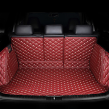 HeXinYan Custom Car Trunk Mat for Jaguar all models F-PACE XF XE car styling auto accessories custom cargo liner