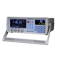 High Precision LCR Meter Dual LCD Display 100Hz 100K 0 3 USB RS232 Made Taiwan