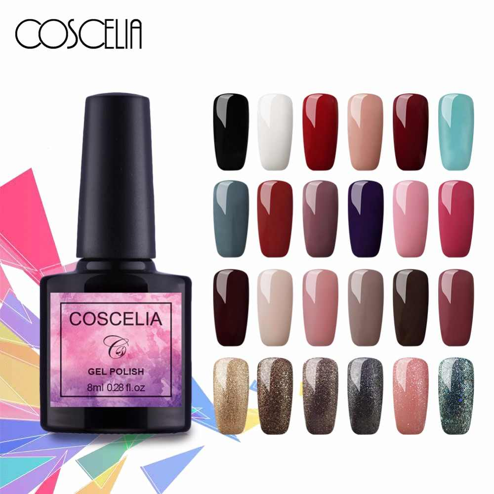 Detail Feedback Questions about COSCELIA Gel Varnish Nail Art Design ...