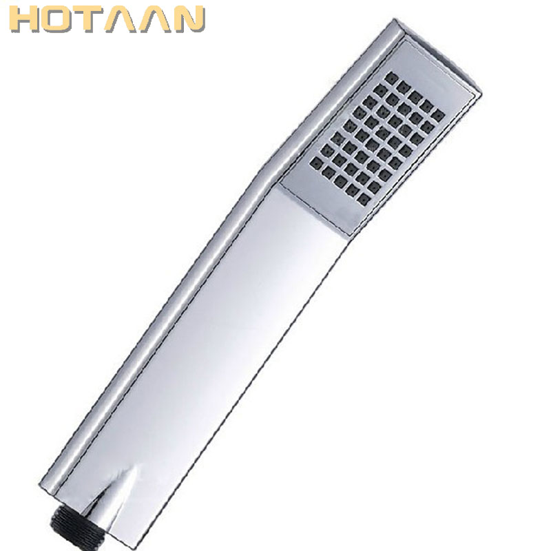 High Quality New Super Booster Water Saving Square Hand Held Rainfall Shower Head For Bathroom Accessories Showerhead YT-5104