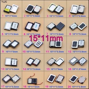 YuXi HOT selling 15x11mm Loudspeaker Speaker Phone Ringing Earpiece Buzzer Receiver Repair Part Universal much image