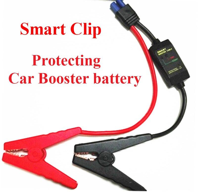 2018 Smart Clips Schellen Für 12 v Auto Starthilfe Kurzschluss Überladung Konstante Regler Schutz Ladegerät für Auto Batterie