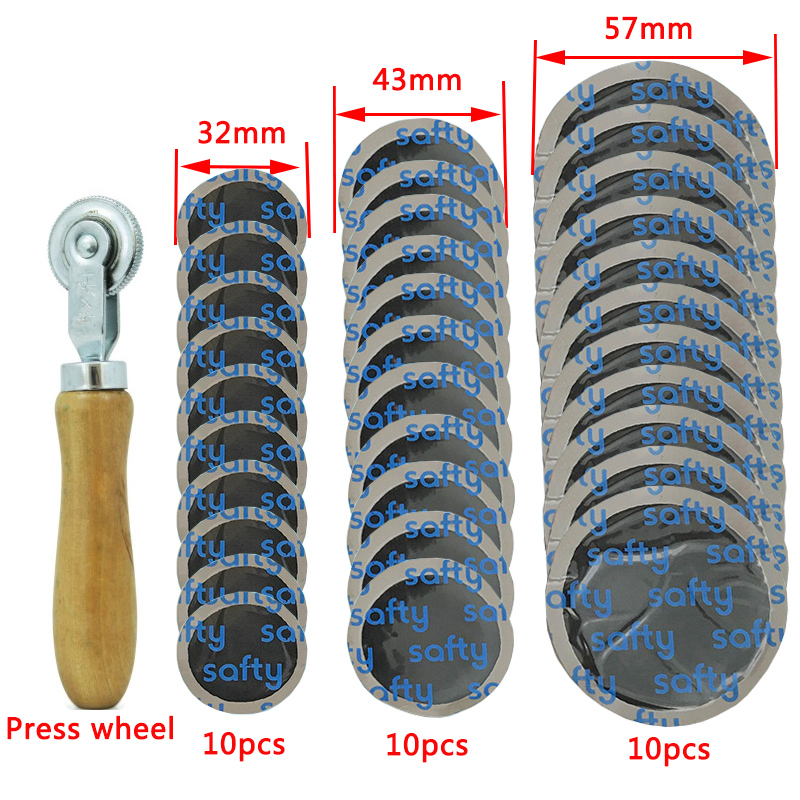 Tire repair rubber patch tool repair cars and motorcycles bicycle every packet more than 30 ( 32mm plus 43mm plus 57mm)(China)