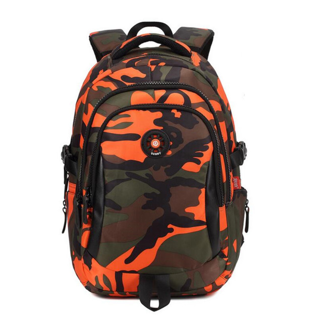 3240ecf7ce new 2019 children school bags for boys rucksack camouflage backpack kids  waterproof bag bookbag men travel backpack bag pack