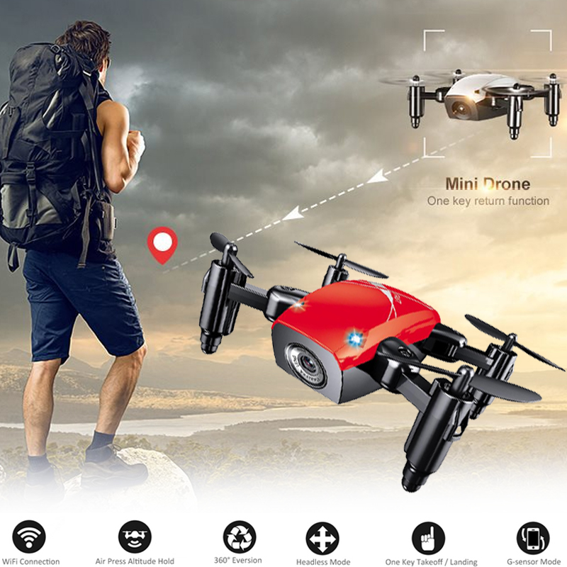 2 4GHz Mini Folding 4 Channel 3D Flips Hover Altitude Hold Headless Mode Remote Control Quadcopter Aircraft Helicopter Drone