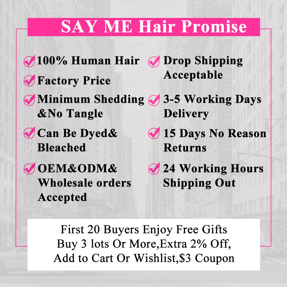 613# Pink Ombre Blonde Peruvian Straight Human Hair Bundles With Closure Remy Hair Weave Ombre 3/4 Bundles With Lace Closure 4*4