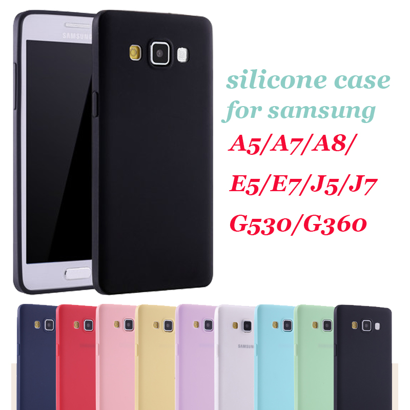 For girl Soft Silicone Case for Samsung Galaxy 2015 J5 J7 ...
